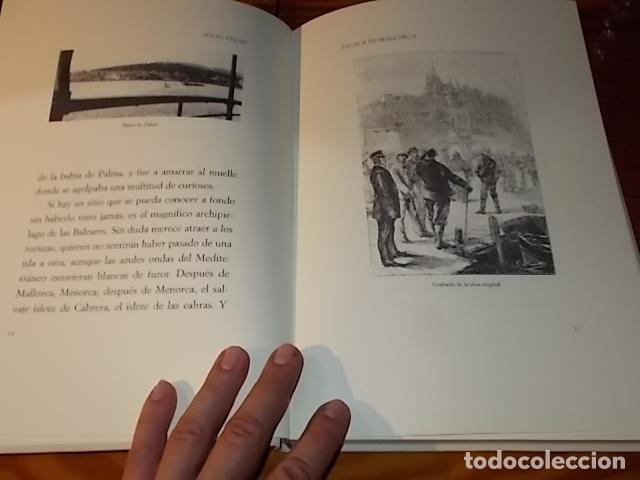 Libros de segunda mano: ESCALA EN MALLORCA. JULIO VERNE . PALMA DE MALLORCA. 1ª EDICIÓN 1998. EDICIÓN LIMITADA Y NUMERADA - Foto 5 - 175674269