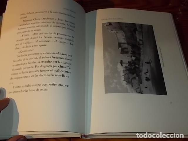 Libros de segunda mano: ESCALA EN MALLORCA. JULIO VERNE . PALMA DE MALLORCA. 1ª EDICIÓN 1998. EDICIÓN LIMITADA Y NUMERADA - Foto 6 - 175674269