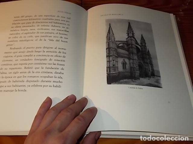 Libros de segunda mano: ESCALA EN MALLORCA. JULIO VERNE . PALMA DE MALLORCA. 1ª EDICIÓN 1998. EDICIÓN LIMITADA Y NUMERADA - Foto 7 - 175674269