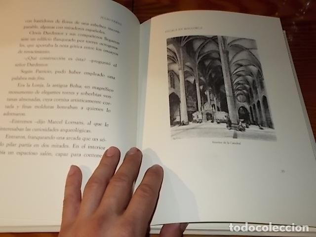 Libros de segunda mano: ESCALA EN MALLORCA. JULIO VERNE . PALMA DE MALLORCA. 1ª EDICIÓN 1998. EDICIÓN LIMITADA Y NUMERADA - Foto 8 - 175674269