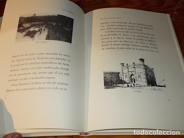 Libros de segunda mano: ESCALA EN MALLORCA. JULIO VERNE . PALMA DE MALLORCA. 1ª EDICIÓN 1998. EDICIÓN LIMITADA Y NUMERADA - Foto 9 - 175674269