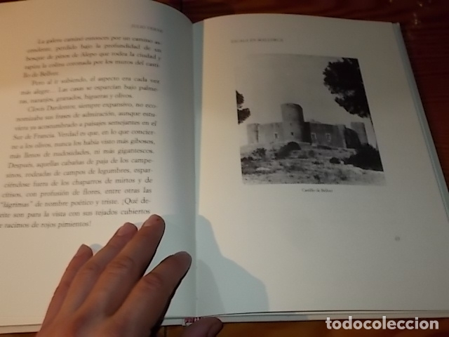 Libros de segunda mano: ESCALA EN MALLORCA. JULIO VERNE . PALMA DE MALLORCA. 1ª EDICIÓN 1998. EDICIÓN LIMITADA Y NUMERADA - Foto 10 - 175674269