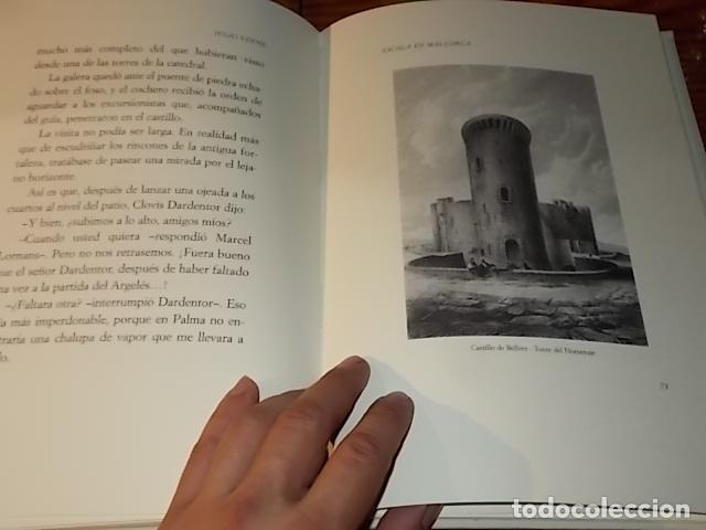 Libros de segunda mano: ESCALA EN MALLORCA. JULIO VERNE . PALMA DE MALLORCA. 1ª EDICIÓN 1998. EDICIÓN LIMITADA Y NUMERADA - Foto 11 - 175674269