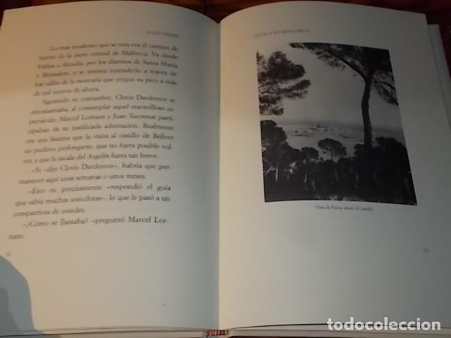 Libros de segunda mano: ESCALA EN MALLORCA. JULIO VERNE . PALMA DE MALLORCA. 1ª EDICIÓN 1998. EDICIÓN LIMITADA Y NUMERADA - Foto 12 - 175674269
