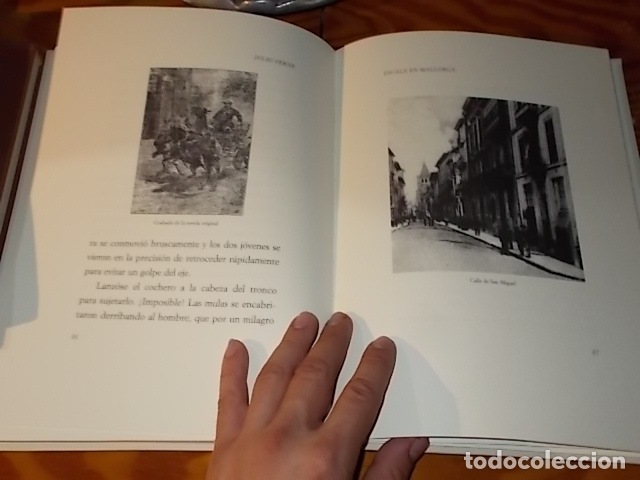 Libros de segunda mano: ESCALA EN MALLORCA. JULIO VERNE . PALMA DE MALLORCA. 1ª EDICIÓN 1998. EDICIÓN LIMITADA Y NUMERADA - Foto 13 - 175674269