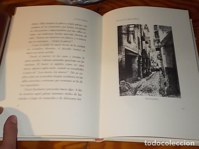 Libros de segunda mano: ESCALA EN MALLORCA. JULIO VERNE . PALMA DE MALLORCA. 1ª EDICIÓN 1998. EDICIÓN LIMITADA Y NUMERADA - Foto 14 - 175674269