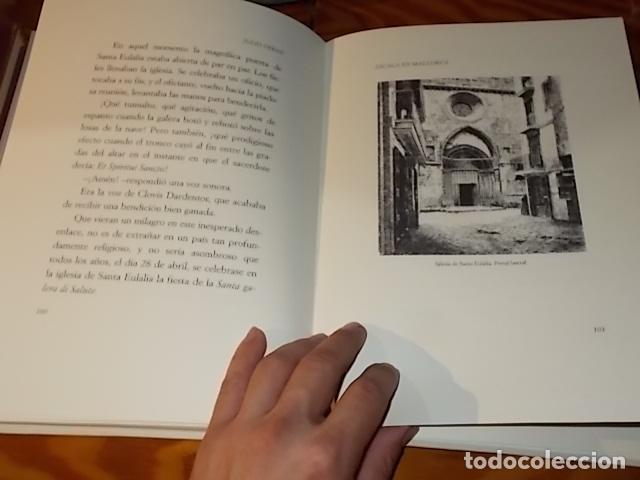 Libros de segunda mano: ESCALA EN MALLORCA. JULIO VERNE . PALMA DE MALLORCA. 1ª EDICIÓN 1998. EDICIÓN LIMITADA Y NUMERADA - Foto 15 - 175674269