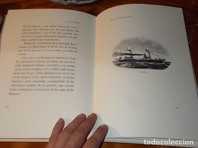 Libros de segunda mano: ESCALA EN MALLORCA. JULIO VERNE . PALMA DE MALLORCA. 1ª EDICIÓN 1998. EDICIÓN LIMITADA Y NUMERADA - Foto 16 - 175674269
