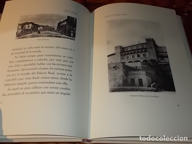 ESCALA EN MALLORCA. JULIO VERNE . PALMA DE MALLORCA. 1ª EDICIÓN 1998. EDICIÓN LIMITADA Y NUMERADA (Libros de Segunda Mano (posteriores a 1936) - Literatura - Narrativa - Otros)