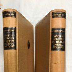 Libros de segunda mano: NOVELAS SELECTAS DE HISPANO AMÉRICA, SIGLO XIX /PRÓLOGO, SELECCIÓN Y NOTAS DE SALVADOR REYES NEVARES. Lote 175684589