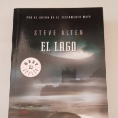 Libros de segunda mano: EL LAGO - STEVE ALTEN - DEBOLSILLO - TDK366. Lote 175873563