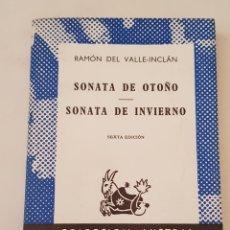 Libros de segunda mano: SONATA DE OTOÑO / SONATA DE INVIERNO, DE RAMÓN DEL VALLE-INCLÁN (AUSTRAL / ESPASA-CALPE, - TDK366. Lote 175873615