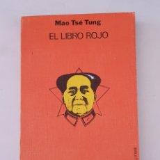 Libros de segunda mano: LIBRO ROJO, DE MAO TSE-TUNG - LIN PIAO, - TDK366. Lote 175873669