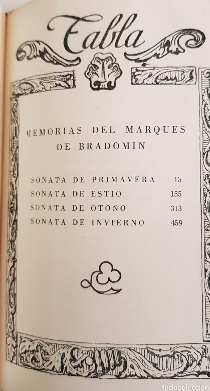 Libros de segunda mano: Ramón María Valle Inclán. Sonatas. Editorial Plenitud. 1954. Ejemplar numerado nº 3151, - TDK19 - Foto 2 - 175874205