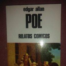 Libros de segunda mano: EDGAR ALLAN POE - RELATOS COMICOS - BUSMA 1985. Lote 194246317