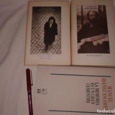 Libros de segunda mano: LOTE DE 3 LIBROS EN CATALAN, MARIA BARBAL, JESÚS MONCADA, MANUEL IBAÑEZ. Lote 176162535