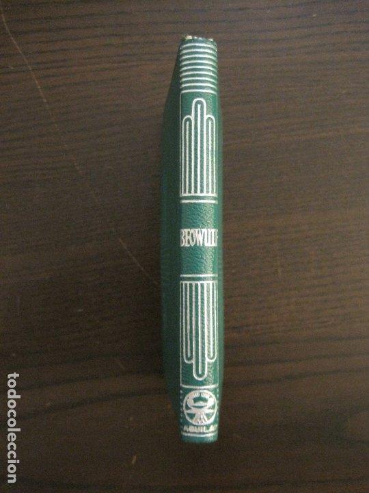 Libros de segunda mano: BEOWULF-COL·CRISOL NUM·2 BIS-1ª EDICION 1959-AGUILAR-VER FOTOS-(V-17.584) - Foto 5 - 176278489