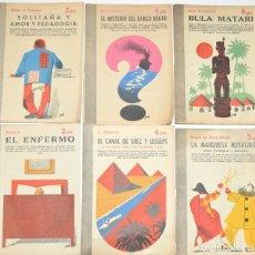 Libros de segunda mano: 60 LIBROS - 60 PORTADAS MANOLO PRIETO - REVISTA LITERARIA, NOVELAS Y CUENTOS - 1953. Lote 176656899