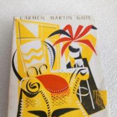 Libros de segunda mano: EL BALNEARIO LOS INFORMES UN DÍA DE LIBERTAD LA CHICA DE ABAJO - CARMEN MARTÍN GAITE 1955 1ª ED.. Lote 176735609