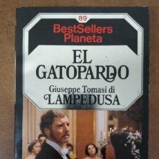 Libros de segunda mano: EL GATOPARDO (GIUSEPPE TOMASI DI LAMPEDUSA) PLANETA - BUEN ESTADO. Lote 176804050