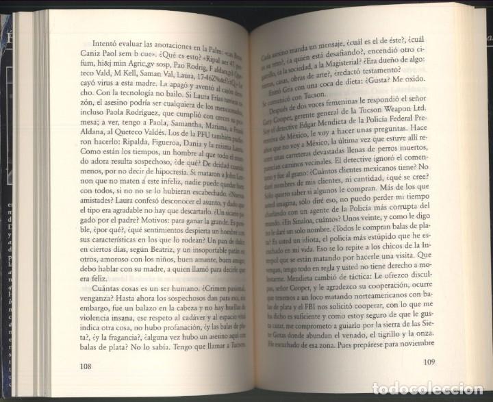 Libros de segunda mano: BALAS DE PLATA.- Elmer Mendoza.- Premio Tusquets. - Foto 3 - 176821130