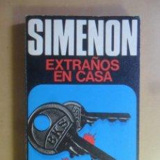 Libros de segunda mano: EXTRAÑOS EN CASA - GEORGES SIMENON - CARALT - 1975. Lote 176888639