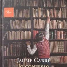 Libros de segunda mano: JO CONFESSO. Lote 176918659