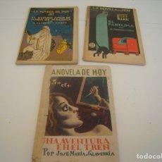 Libros de segunda mano: LOTE LA NOVELA DE HOY. Lote 176976550