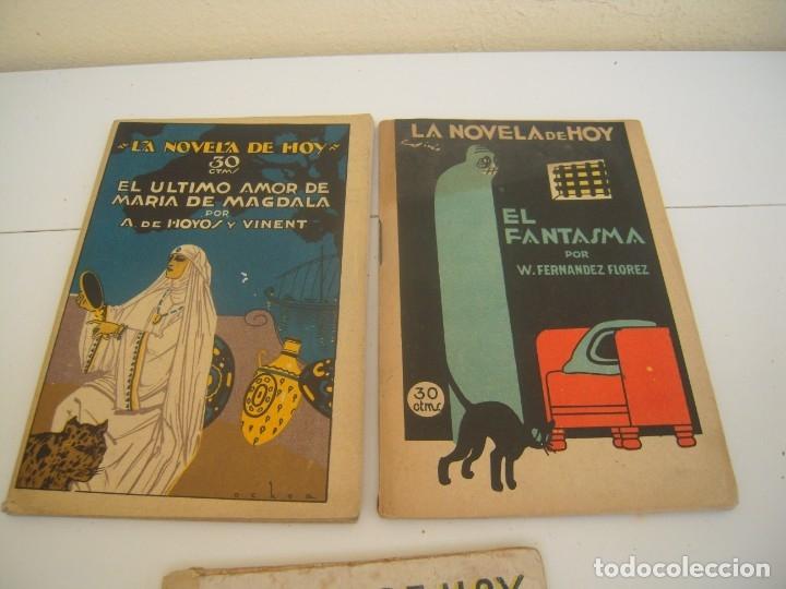 Libros de segunda mano: lote la novela de hoy - Foto 2 - 176976550