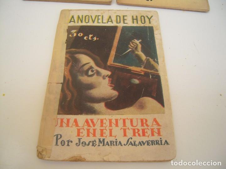 Libros de segunda mano: lote la novela de hoy - Foto 3 - 176976550