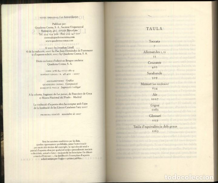 Libros de segunda mano: LES BENIGNES .- Jonathan Littell - Foto 2 - 176999977