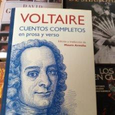 Libros de segunda mano: VOLTAIRE CUENTOS COMPLETOS. SIRUELA 2015. Lote 177025063