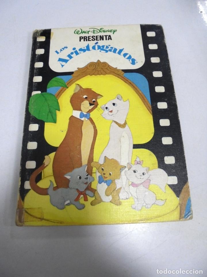 WALT DISNEY. LOS ARISTOGATOS. 1985. ILUSTRADO A COLOR. MADRID (Libros de Segunda Mano (posteriores a 1936) - Literatura - Narrativa - Otros)