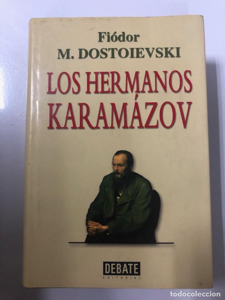 LOS HERMANOS KARAMAZOV. FIODOR M. DOSTOIEVSKI. EDITORIAL DEBATE. BARCELONA, 2000. PAGS: 1103 (Libros de Segunda Mano (posteriores a 1936) - Literatura - Narrativa - Otros)
