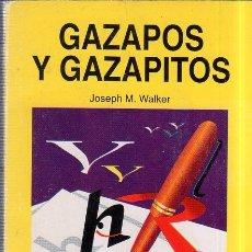 Libros de segunda mano: GAZAPOS Y GAZAPITOS. JOSEPH M. WALKER. PEREA EDICIONES. 1998.. Lote 177459142