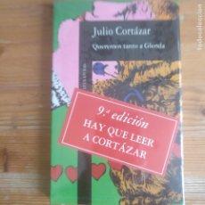Libros de segunda mano: QUEREMOS TANTO A GLENDA Y OTROS RELATOS JULIO CORTAZAR ALFAGUARA PRECINTADO. Lote 177498008