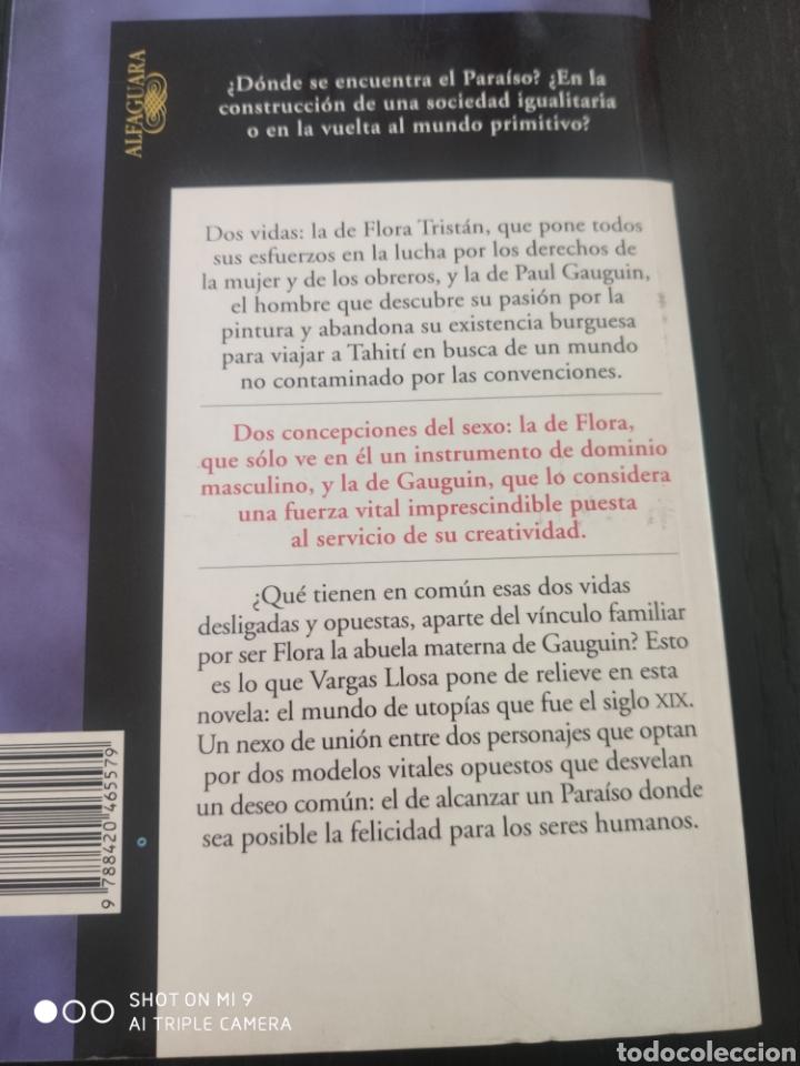 Libros de segunda mano: El Paraíso en la otra esquina, Vargas Llosa - Foto 2 - 177651084