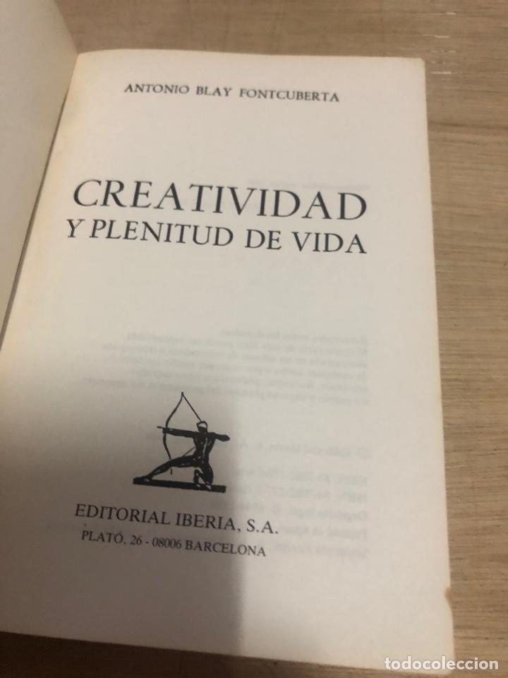 Libros de segunda mano: Creatividad y plenitud de vida - Foto 2 - 177672010