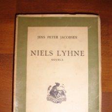 Libri di seconda mano: JACOBSEN, JENS PETER. NIELS LYHNE. - ED. NAUSICA, 1941 . Lote 177704805