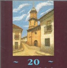 Libros de segunda mano: 20 RELATOS MONEGRINOS Y OTROS RELATOS.- MARIAN ARCAL - IBERCAJA 1992 2ª EDICIÓN EX. Lote 177819469