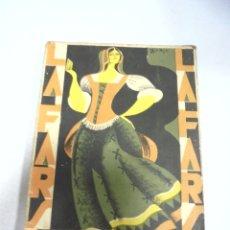 Libros de segunda mano: NOVELA. LA FARSA. ORO MOLIDO. FEDERICO OLIVER. Nº 73. MADRID. Lote 177873443
