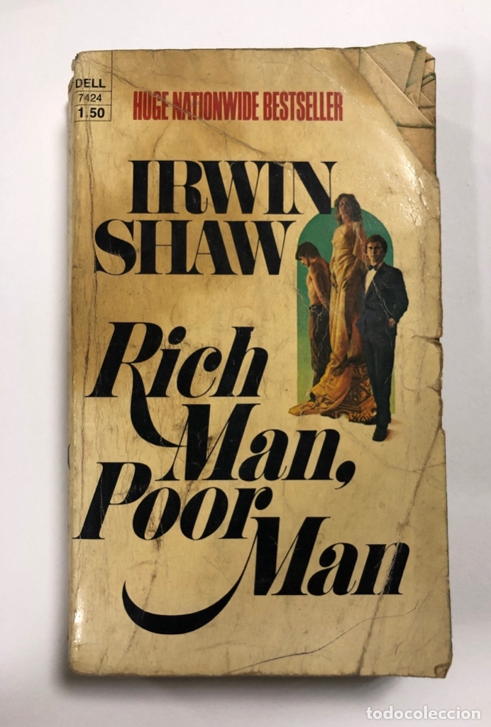 Libros de segunda mano: RICH MAN, POOR MAN. IRWIN SHAWN. A DELL BOOK. NEW YORK, 1971. PAGS: 666 - Foto 1 - 178006923