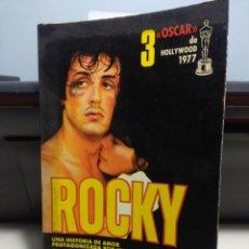 Libros de segunda mano: ROCKY ( ROCKY BALBOA & SYLVESTER STALLONE ) NOVELA DE JULIA SOREL. Lote 277721163
