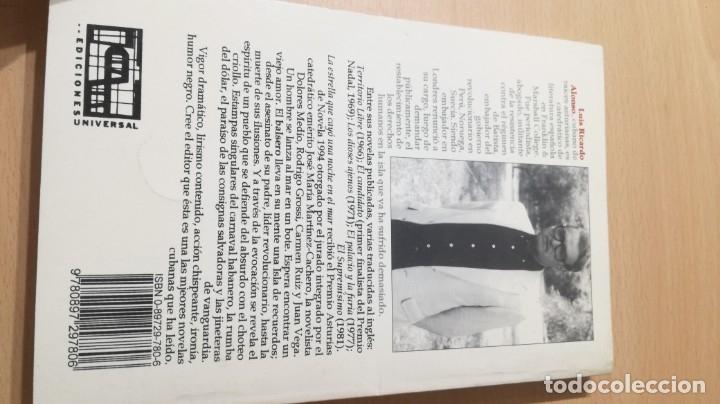 Libros de segunda mano: LA ESTRELLA QUE CAYO UNA NOCHE EN EL MAR - RICARDO ALONSO DEDICATORIA AUTOGRAFA A CONOCIDO ESCRITOR - Foto 3 - 178068665