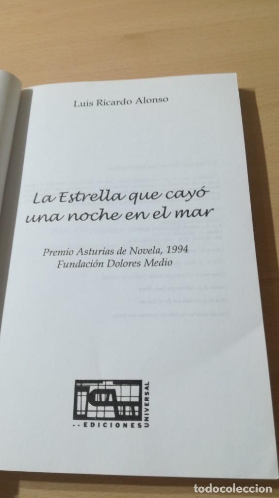 Libros de segunda mano: LA ESTRELLA QUE CAYO UNA NOCHE EN EL MAR - RICARDO ALONSO DEDICATORIA AUTOGRAFA A CONOCIDO ESCRITOR - Foto 7 - 178068665