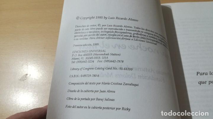 Libros de segunda mano: LA ESTRELLA QUE CAYO UNA NOCHE EN EL MAR - RICARDO ALONSO DEDICATORIA AUTOGRAFA A CONOCIDO ESCRITOR - Foto 8 - 178068665