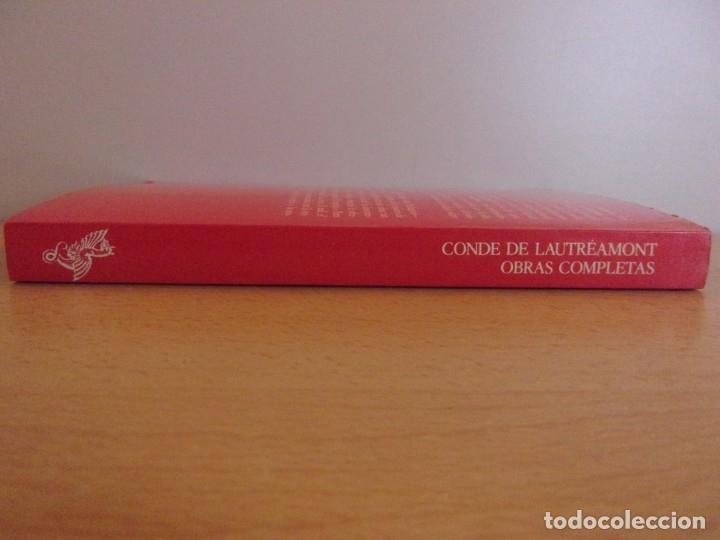 Libros de segunda mano: CONDE DE LAUTRÉAMONT. OBRAS COMPLETAS / 1979. ARGONAUTA - Foto 3 - 178122932
