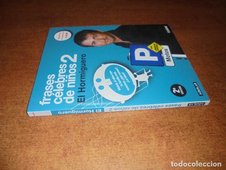 Libros de segunda mano: FRASES CÉLEBRES DE NIÑOS 2. EL HORMIGUERO. - Foto 2 - 178251465