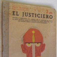 Libros de segunda mano: EL JUSTICIERO, PAUL BOURGET. Lote 178257438