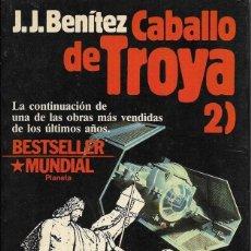 Libros de segunda mano: == ED122 - CABALLO DE TROYA 2 - J. J. BENITEZ. Lote 178266557